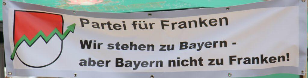 Bayern steht nicht zu Franken