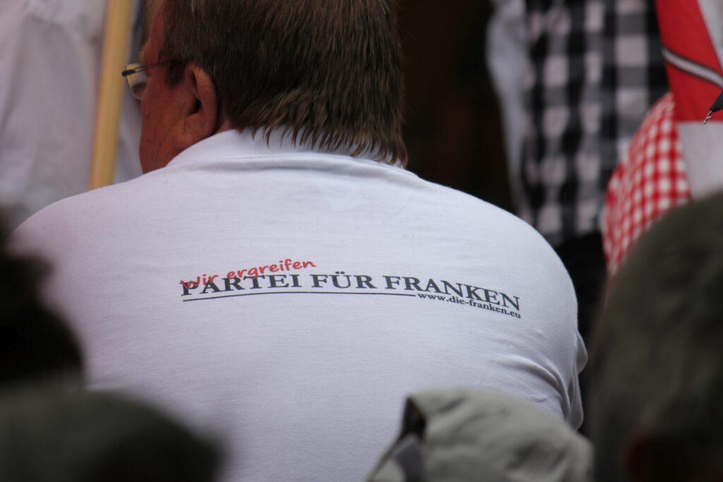 Ergreife Partei für Franken